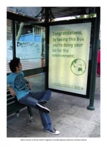 Transit Stop Advertising