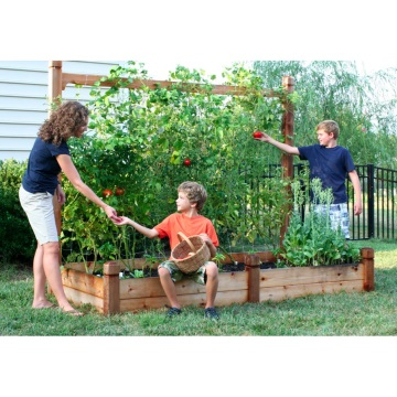 Building a Vertical Vegetable Garden Site Shade Blog