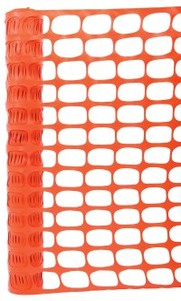 Standard Barrier Mesh Orange